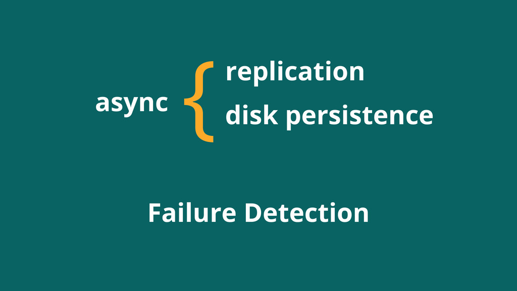 async {replication disk persistence Failure Det...