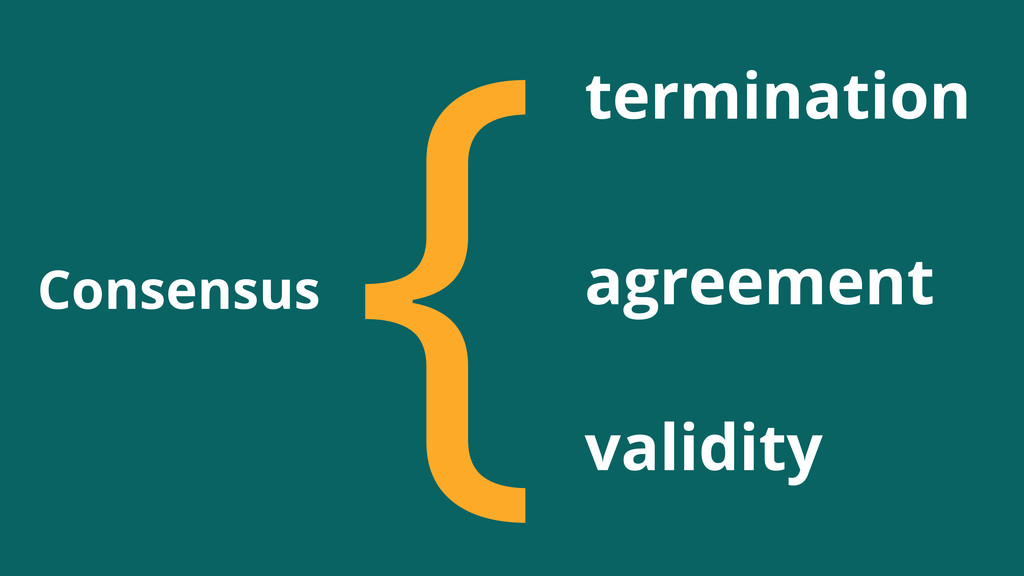 Consensus {termination agreement validity