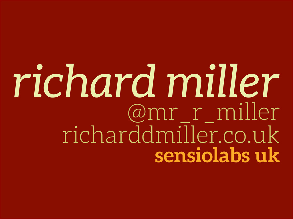 richard miller @mr_r_miller richarddmiller.co.u...