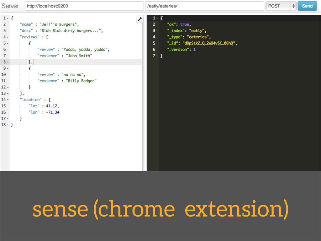 sense (chrome extension)