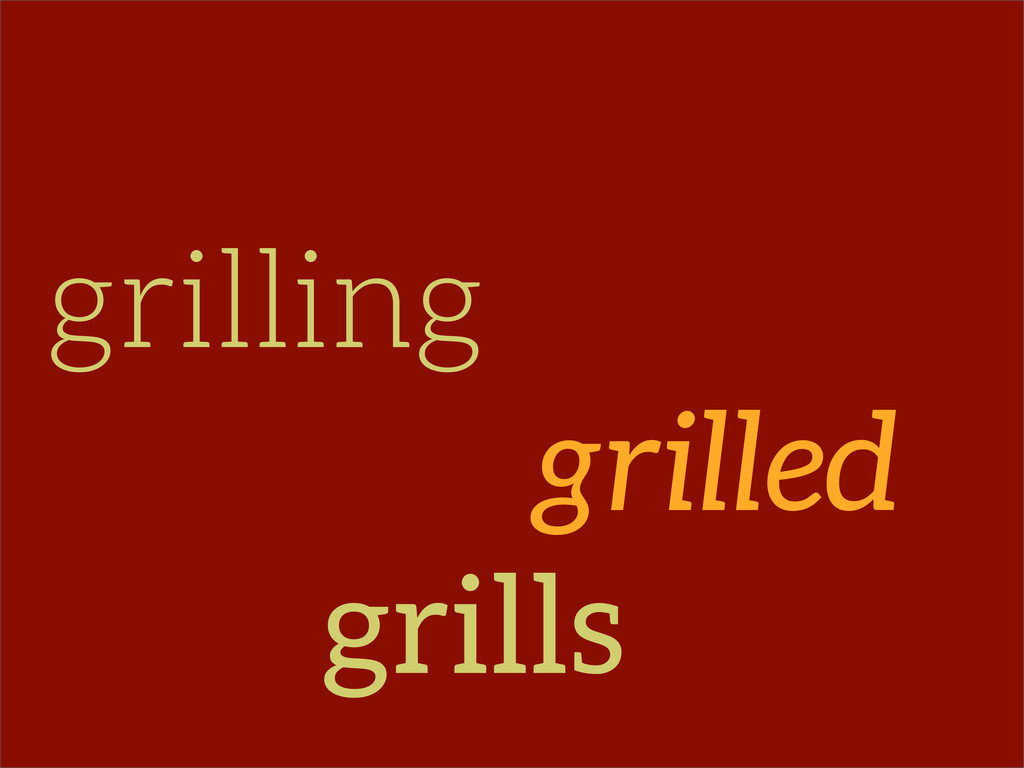 grilling grilled grills