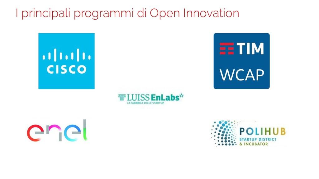 I principali programmi di Open Innovation 14