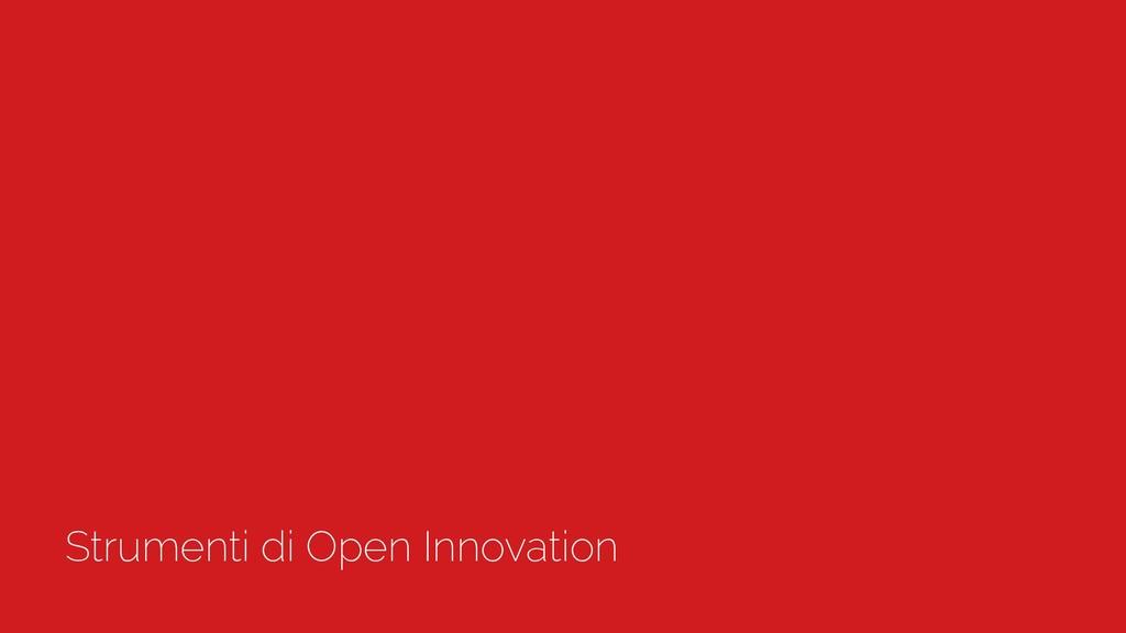 Strumenti di Open Innovation