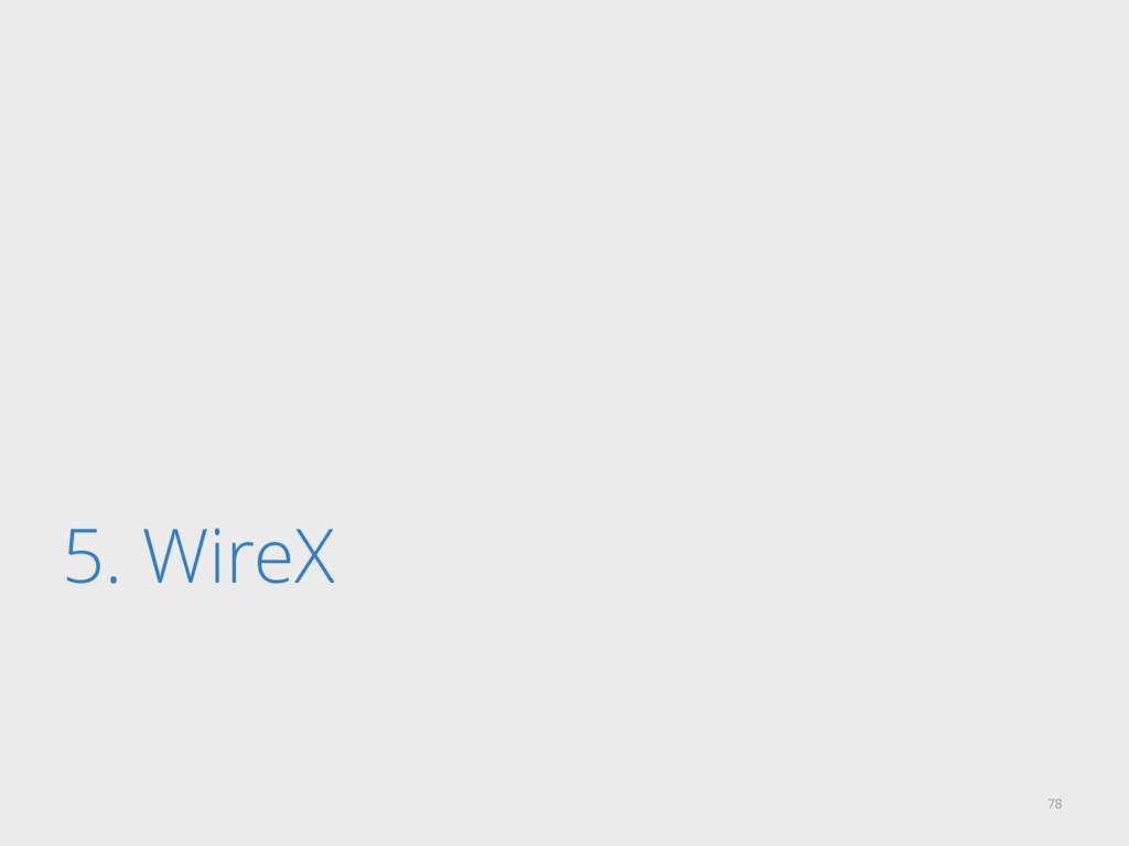 5. WireX 78