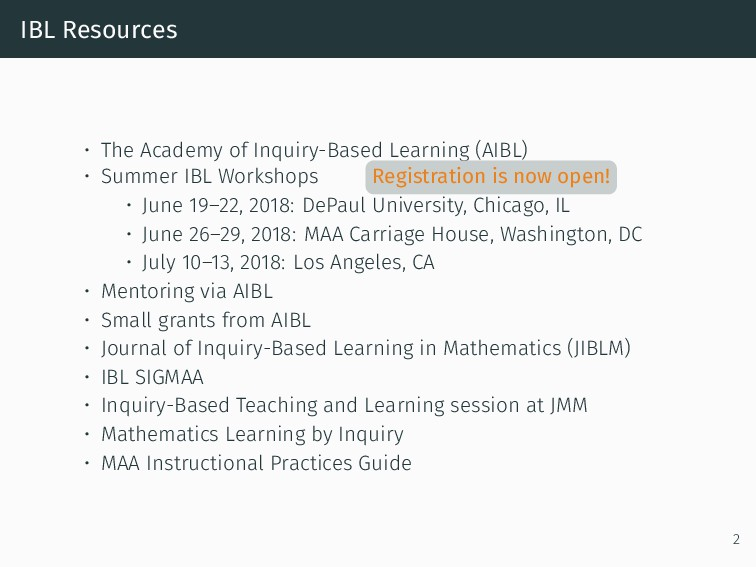 IBL Resources • The Academy of Inquiry-Based Le...