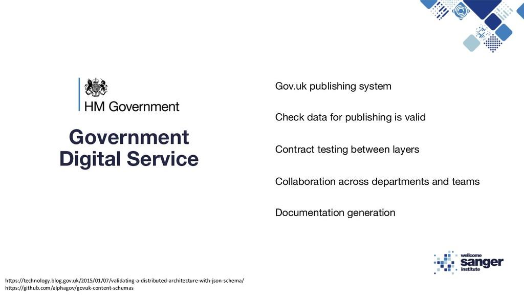 Gov.uk publishing system Check data for publish...