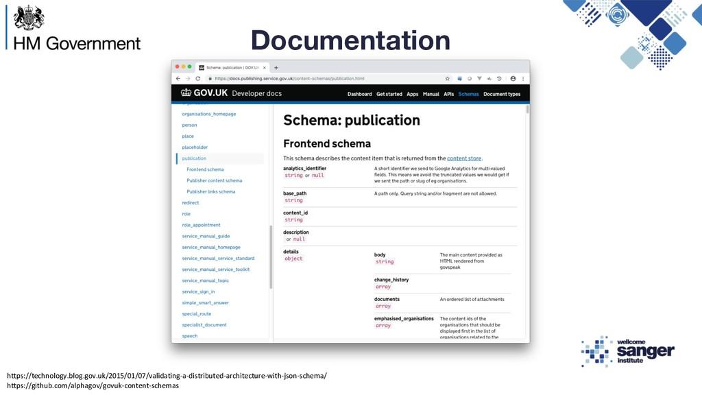 Documentation https://technology.blog.gov.uk/20...