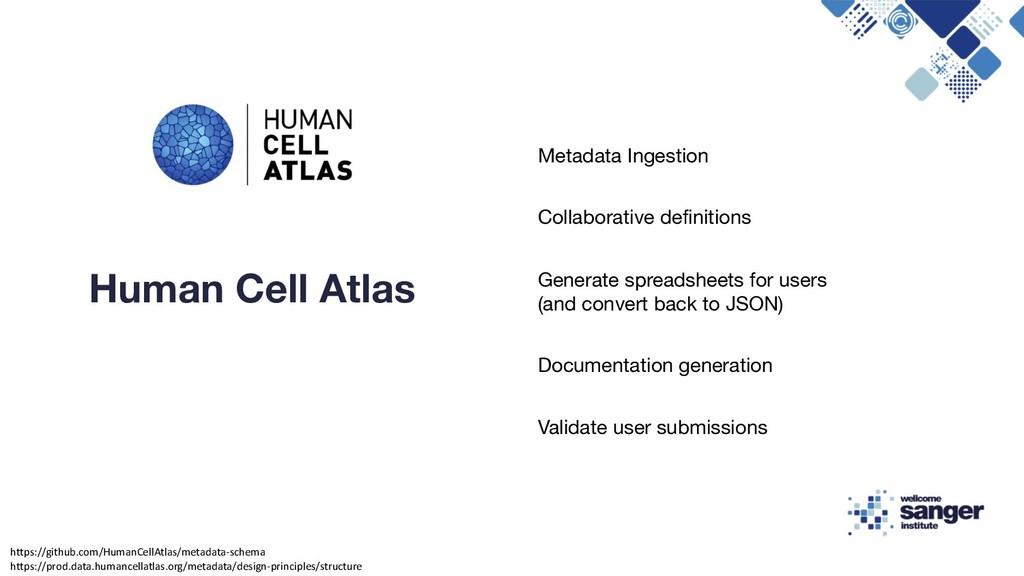 Metadata Ingestion Collaborative definitions Ge...