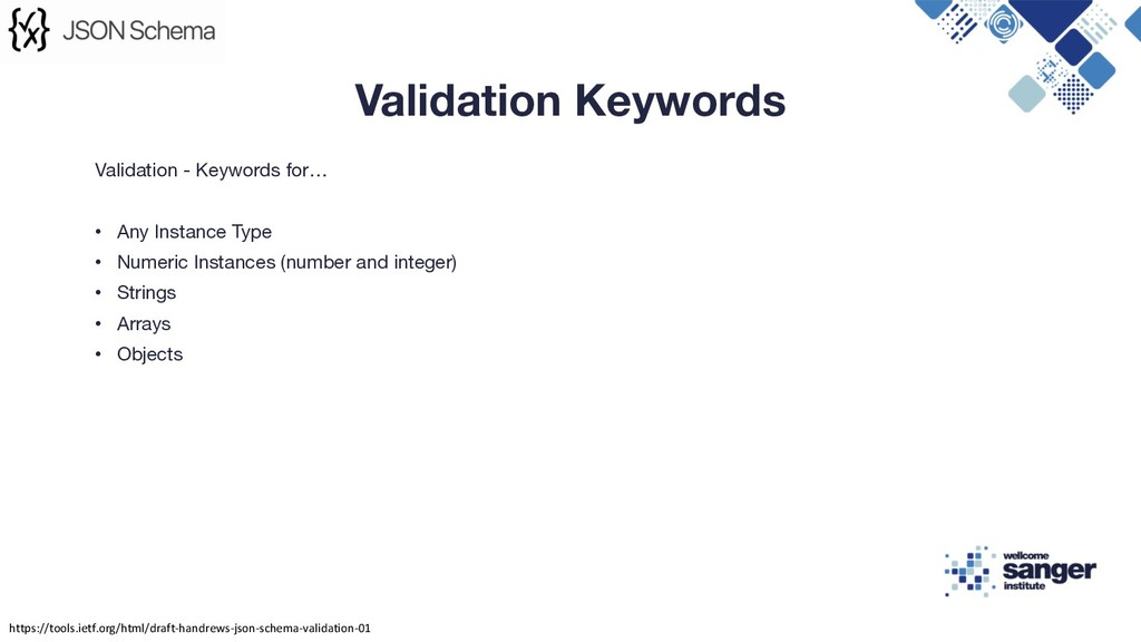 Validation - Keywords for… • Any Instance Type ...