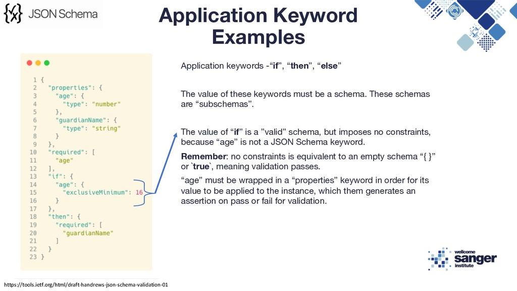 "Application keywords -""if"", ""then"", ""else"" The ..."