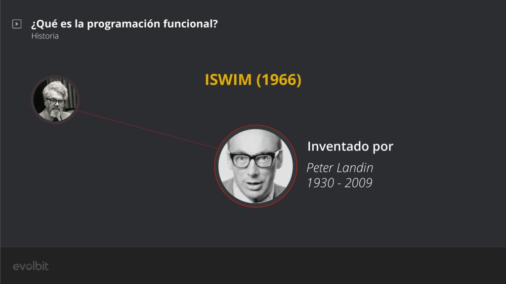 ¿Qué es la programación funcional? Historia Pet...