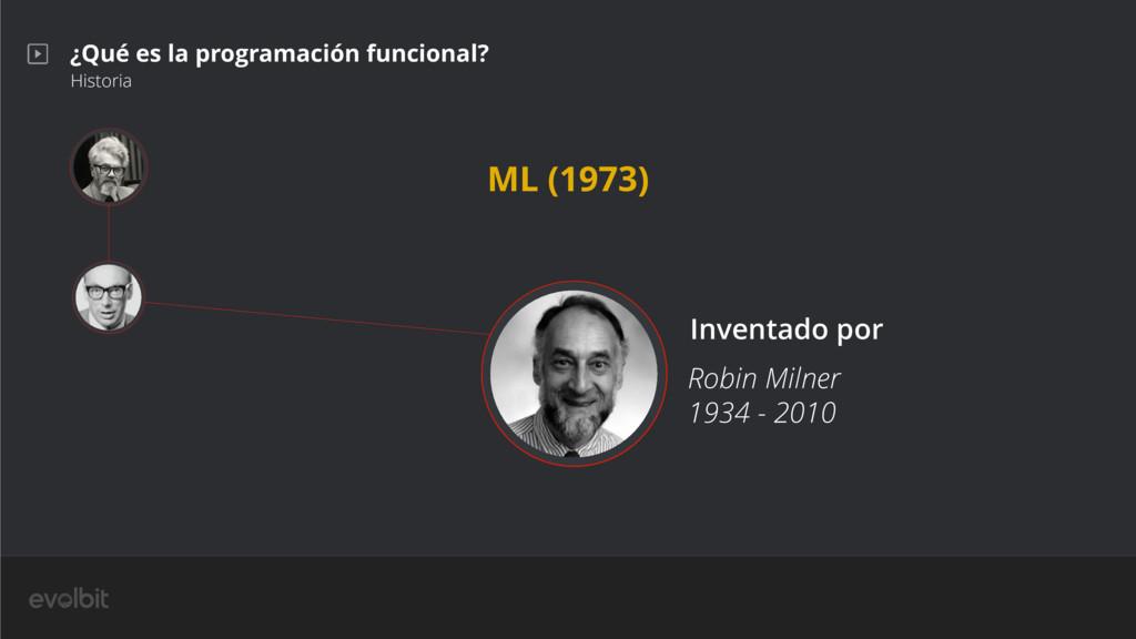 ¿Qué es la programación funcional? Historia Rob...