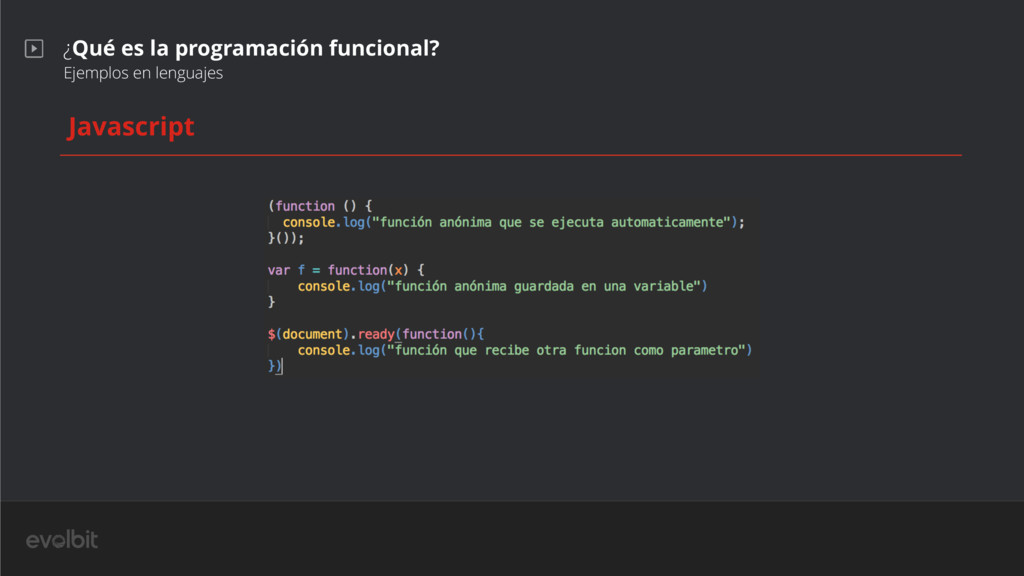 ¿Qué es la programación funcional? Ejemplos en ...