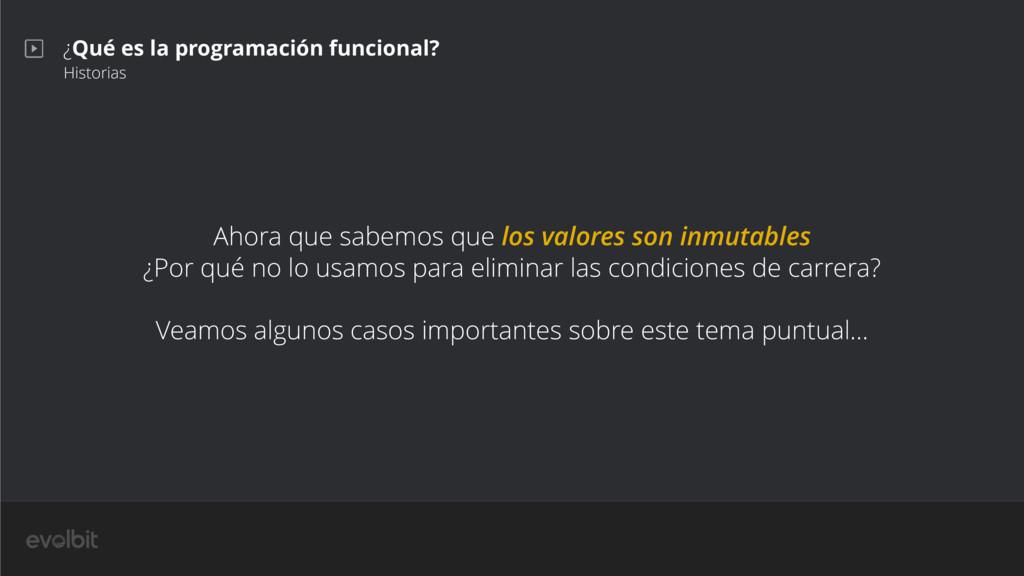 ¿Qué es la programación funcional? Historias Ah...