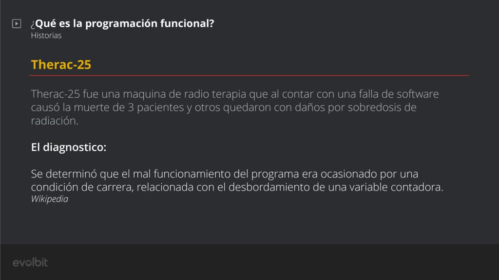 ¿Qué es la programación funcional? Historias Th...
