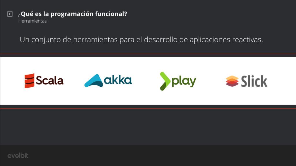 ¿Qué es la programación funcional? Herramientas...