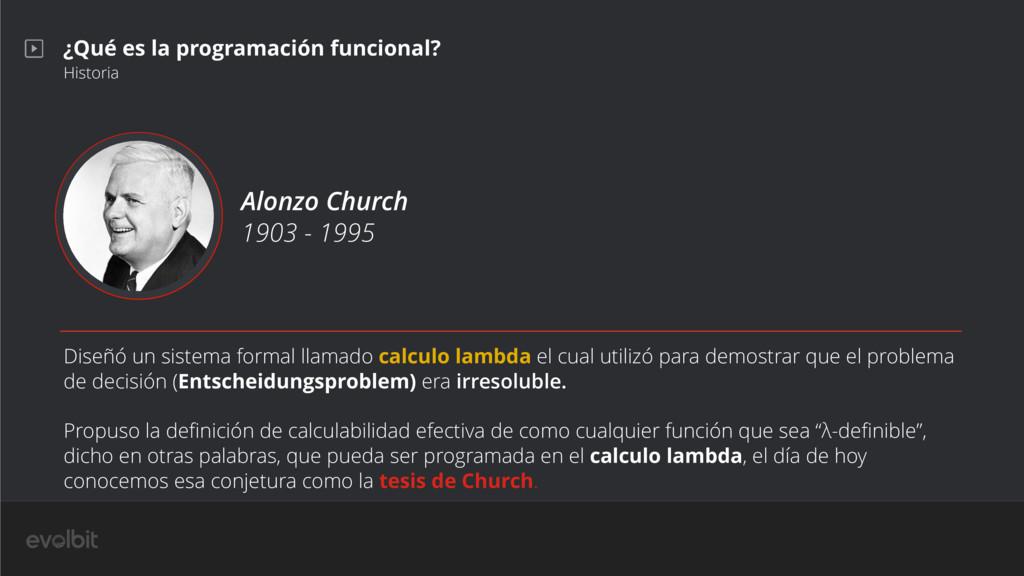¿Qué es la programación funcional? Historia Alo...
