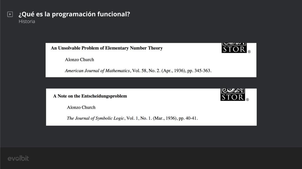 ¿Qué es la programación funcional? Historia