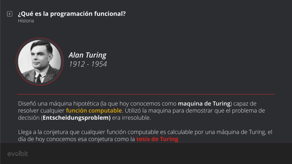 ¿Qué es la programación funcional? Historia Ala...