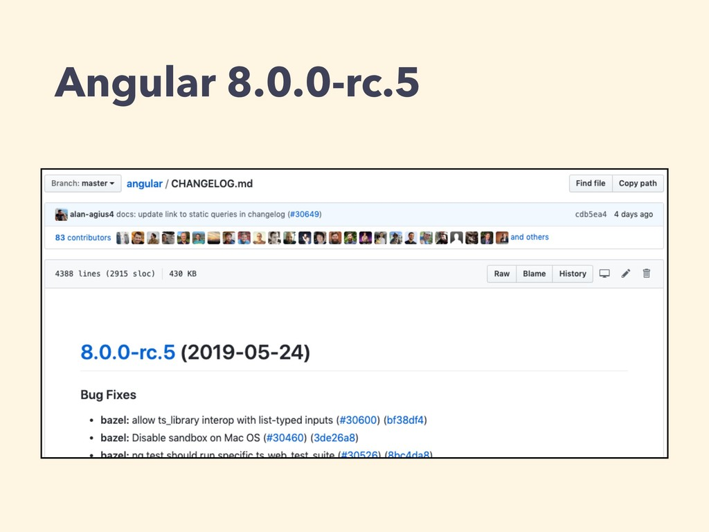 Angular 8.0.0-rc.5