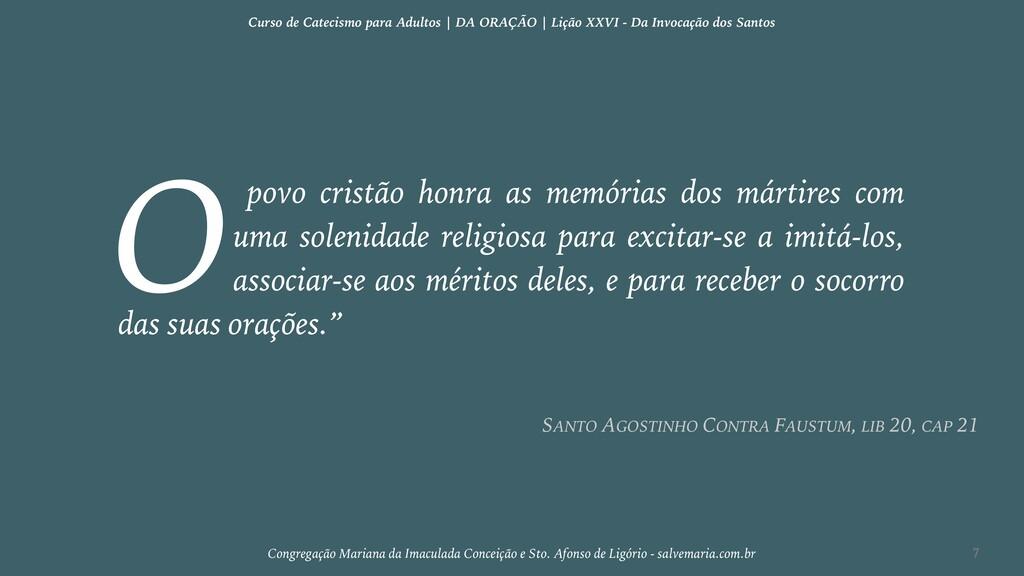 povo cristão honra as memórias dos mártires com...