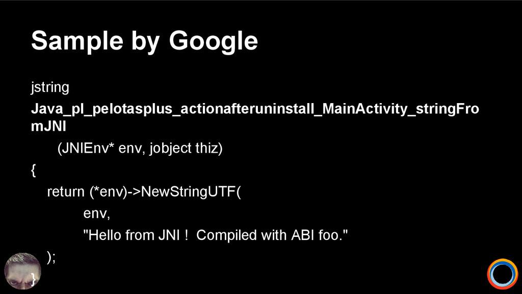 Sample by Google jstring Java_pl_pelotasplus_ac...
