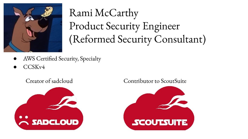 Rami McCarthy Product Security Engineer (Reform...
