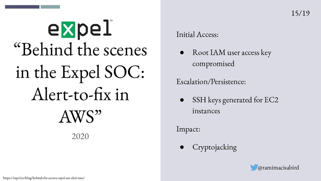 """Behind the scenes in the Expel SOC: Alert-to-f..."