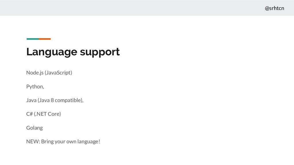 @srhtcn Language support Node.js (JavaScript) P...