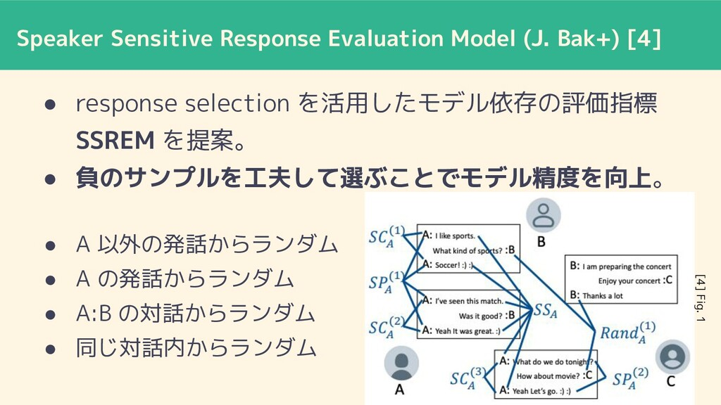 Speaker Sensitive Response Evaluation Model (J....