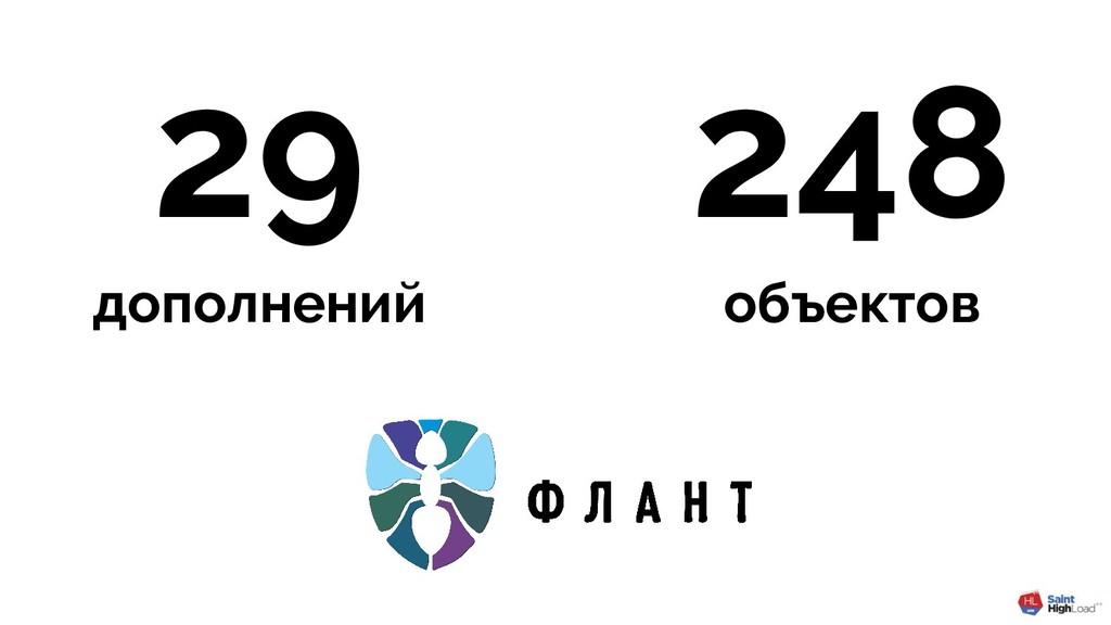 29 дополнений 248 объектов