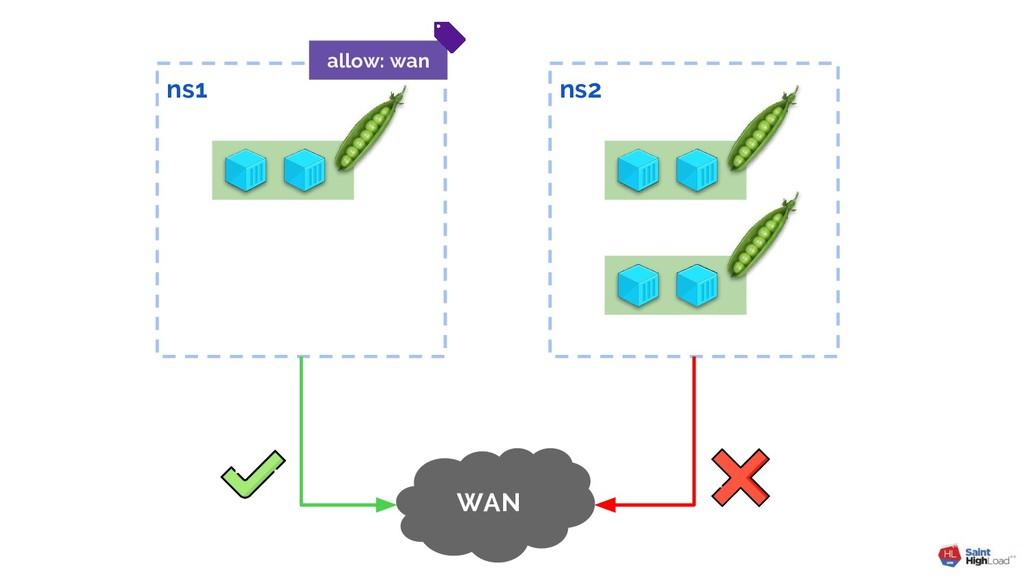 ns2 ns1 WAN allow: wan