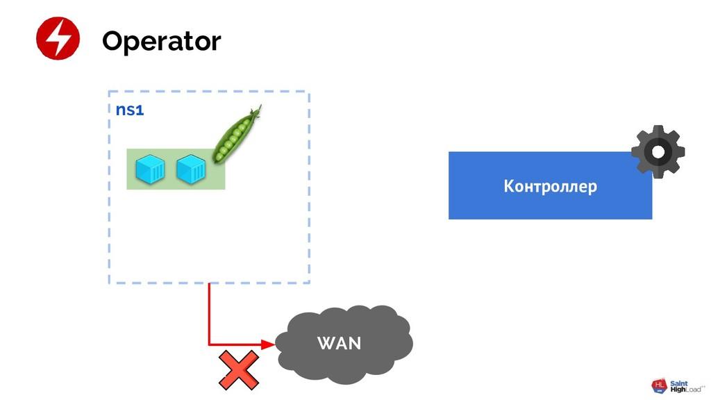 ns1 WAN Контроллер Operator