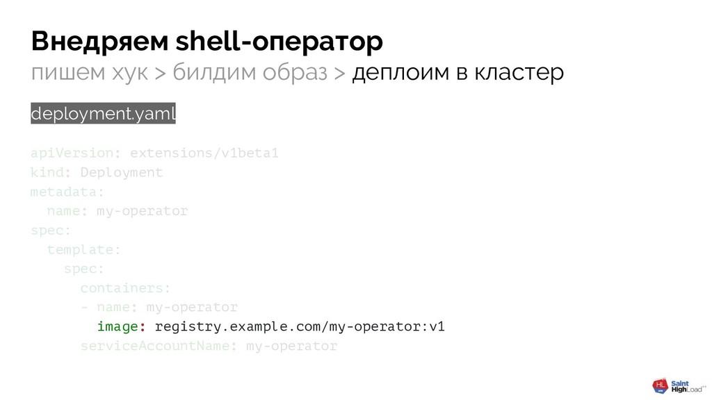 apiVersion: extensions/v1beta1 kind: Deployment...
