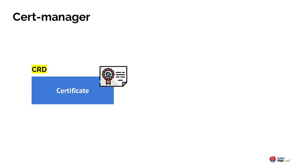 Cert-manager Certificate CRD