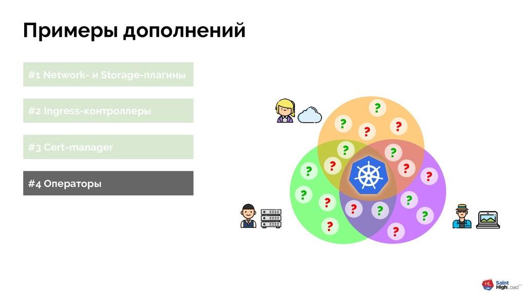 Примеры дополнений #1 Network- и Storage-плагин...