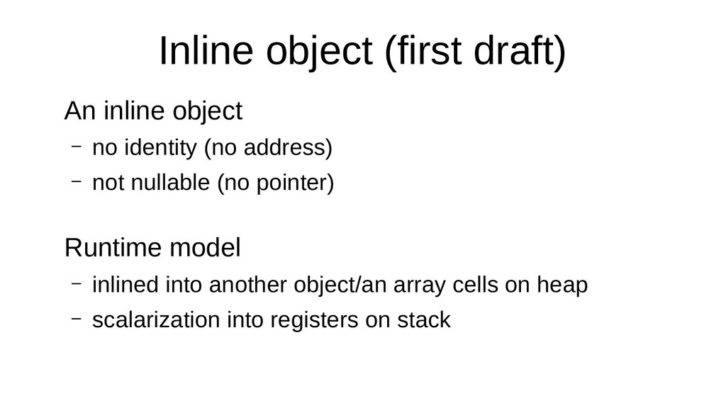 Inline object (first draft) An inline object – ...