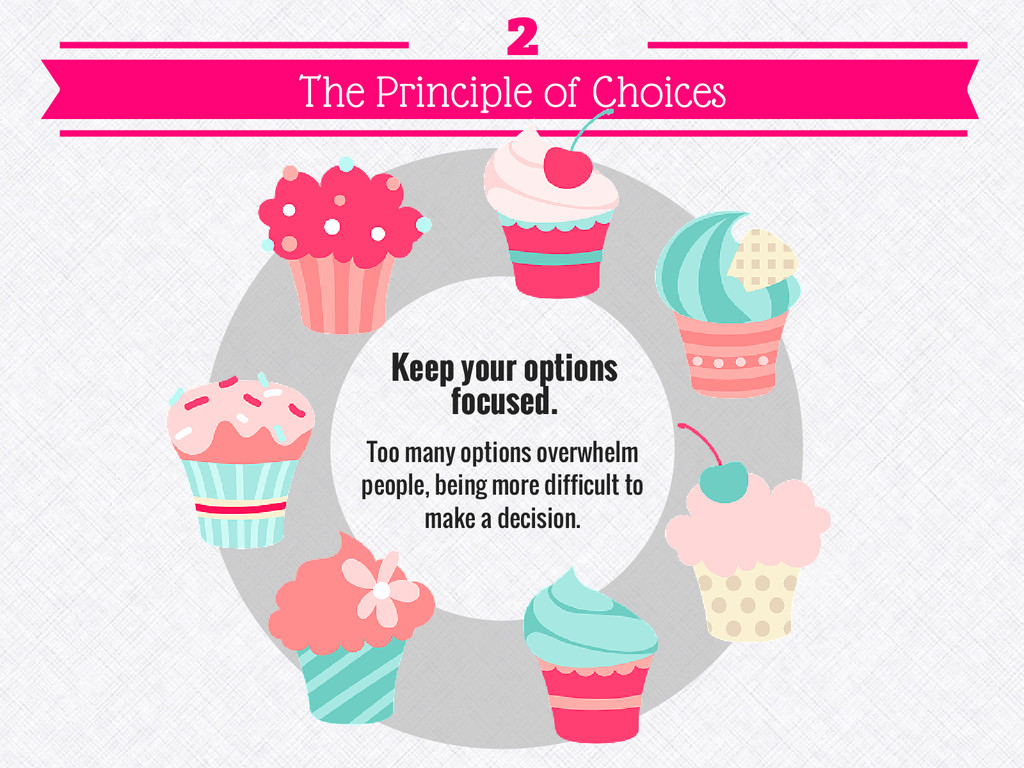 Keep your options focused. Too many options ove...