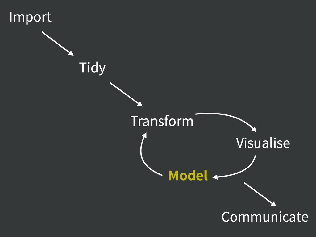 Import Tidy Communicate Transform Visualise Mod...
