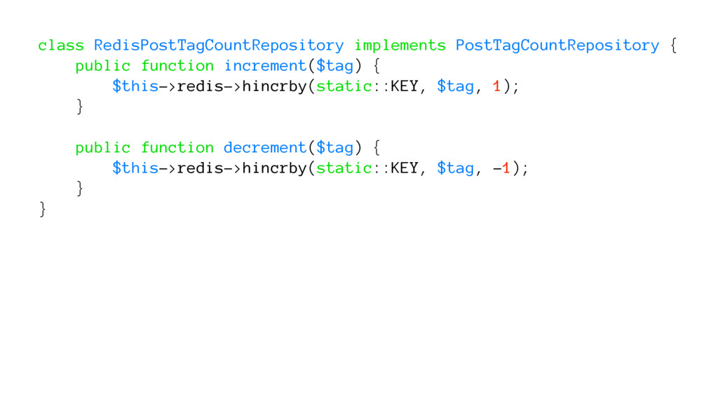 class RedisPostTagCountRepository implements Po...