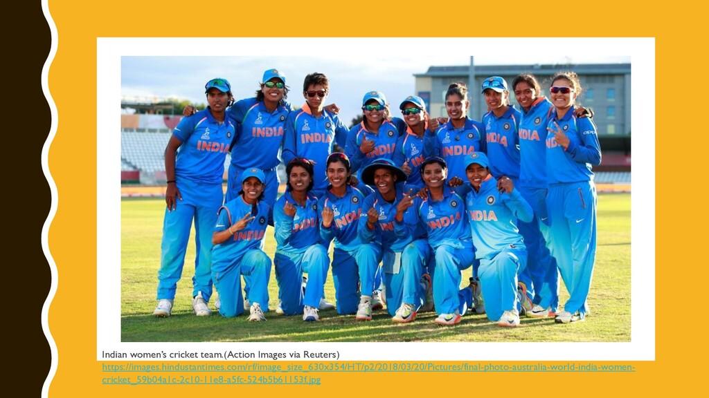 @digisim Indian women's cricket team.(Action Im...