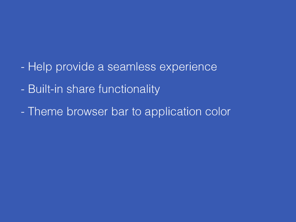 - Help provide a seamless experience - Built-in...