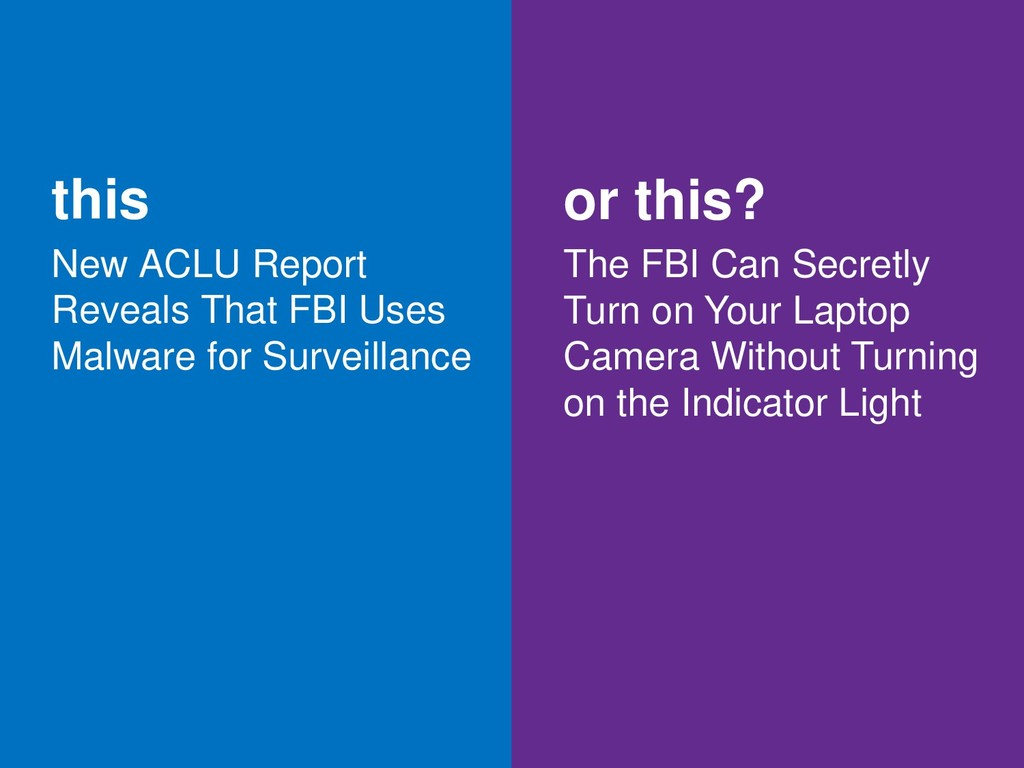 this New ACLU Report Reveals That FBI Uses Malw...