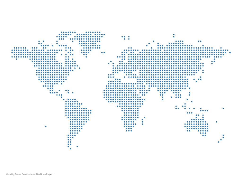 World by Ronan Bolaños from The Noun Project