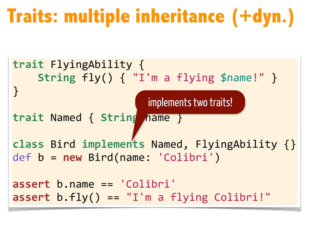 trait FlyingAbility {      ...