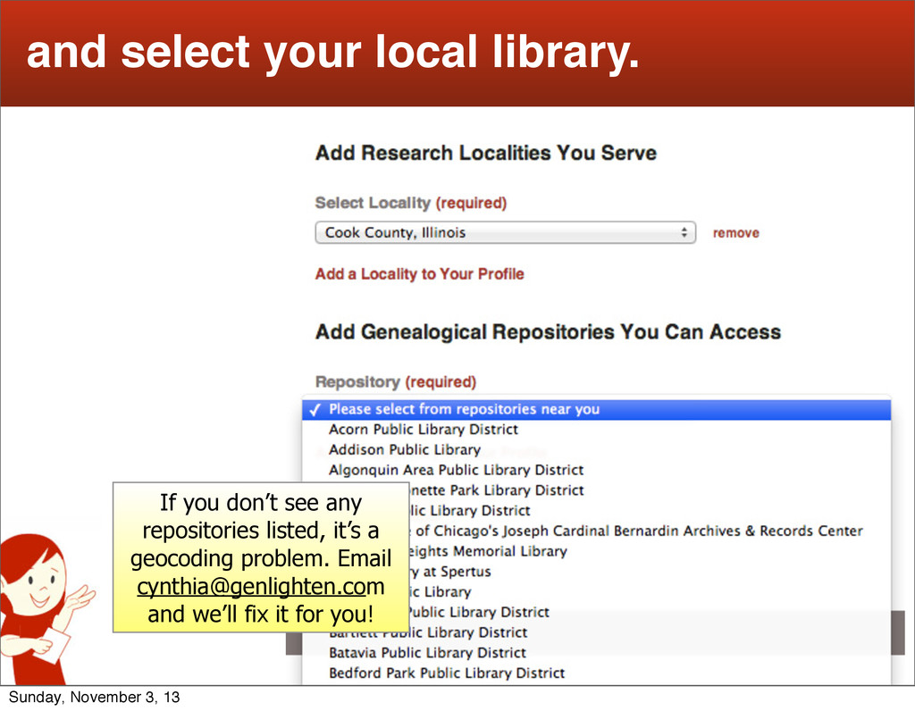 11 and select your local library. If you don't ...