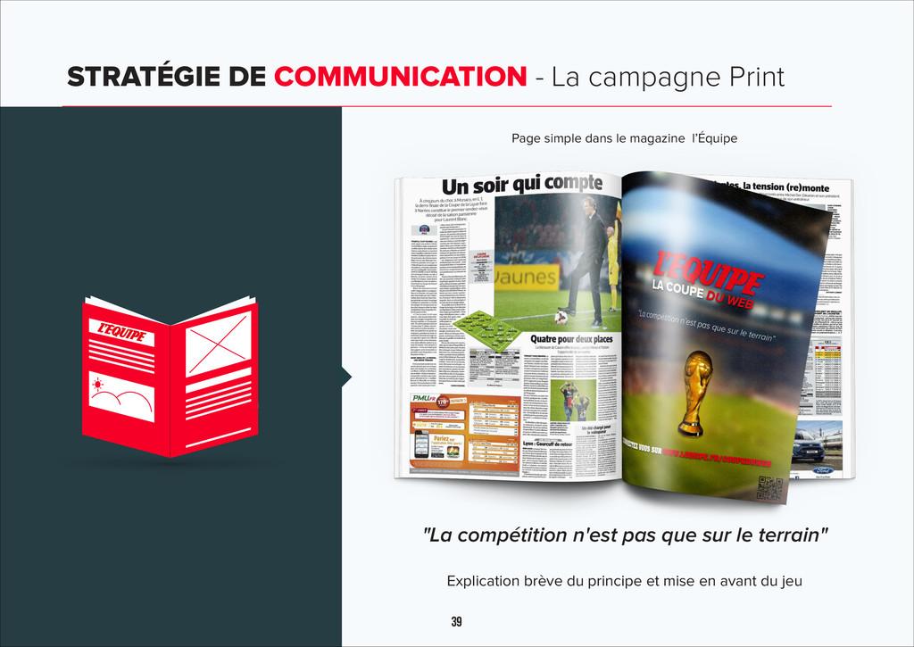 39 STRATÉGIE DE COMMUNICATION - La campagne Pri...