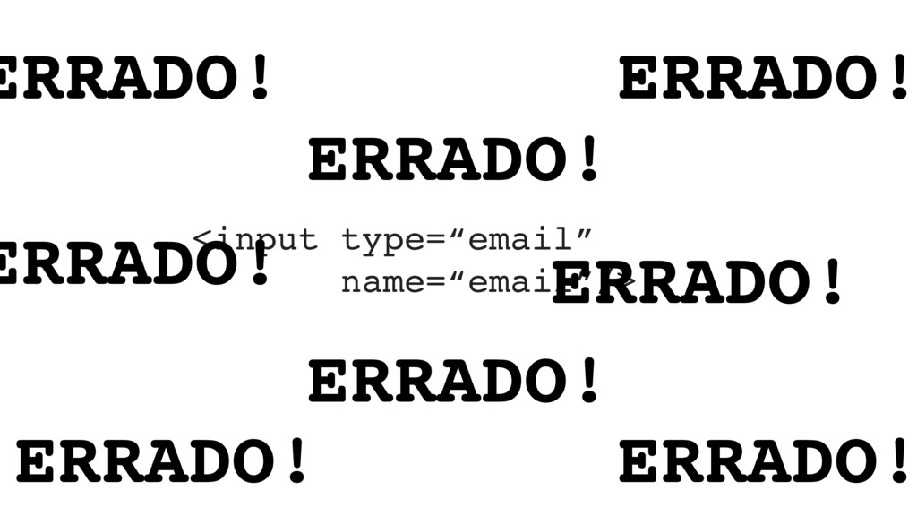 "<input type=""email""