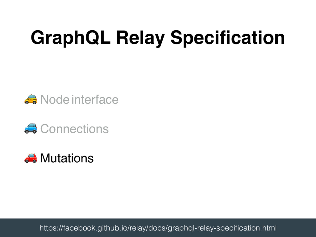 # Node interface $ Connections % Mutations Grap...