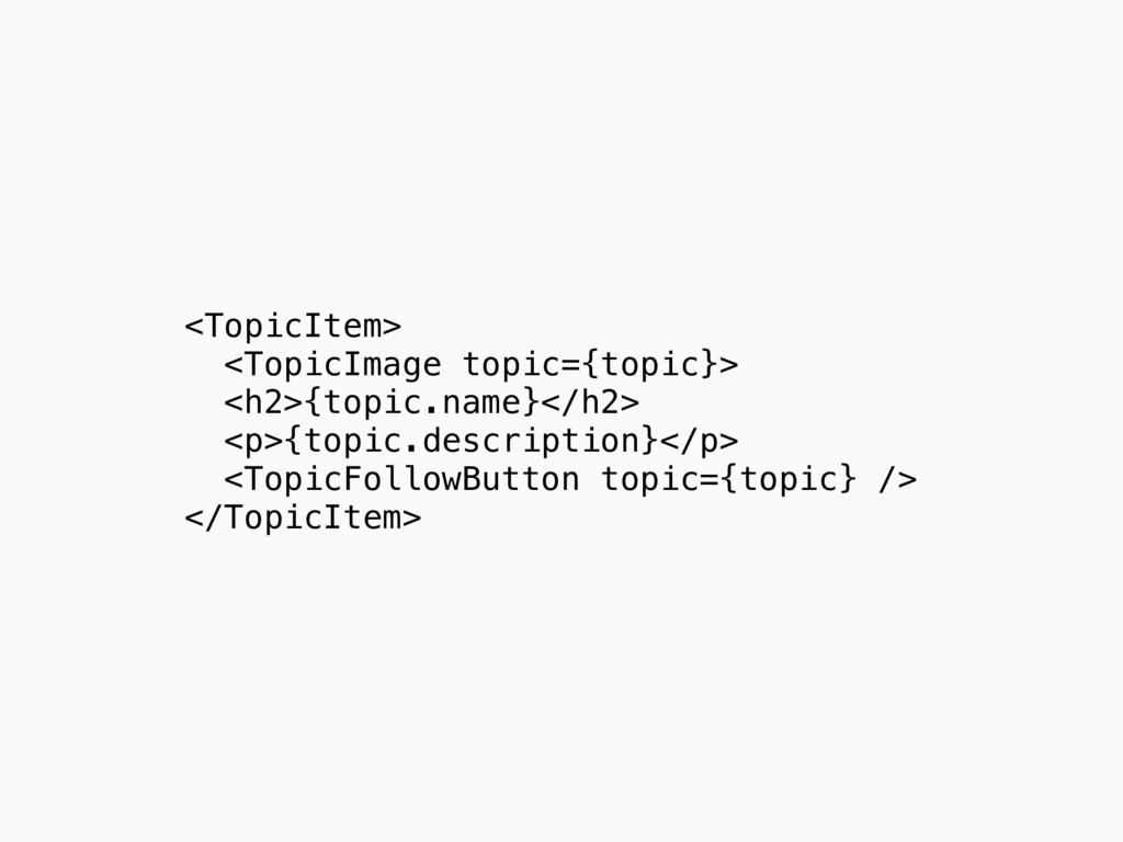 <TopicItem> <TopicImage topic={topic}> <h2>{top...